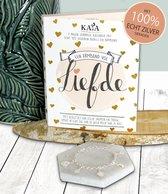 """Kaya Sieraden Surprise (advent) Kalender """"Liefde"""" met echt 925 zilveren sieraden"""
