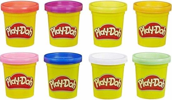 Play-Doh Neon Klei - 8 Potjes