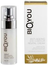 Bio2You natuurlijke anti-veroudering oog contour revital crème