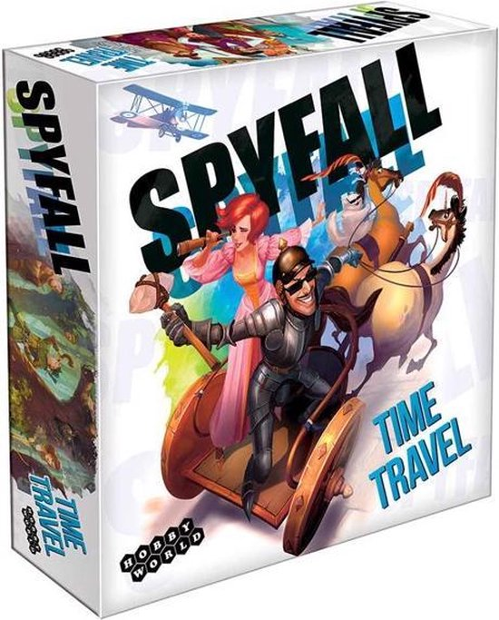 Afbeelding van het spel Spyfall Time Travel (Engelstalig)