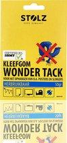 3BMT - dubbelzijdige kleefstrips - kleef gum - voor ophangen van o.a. posters en slingers - herbruikbaar - 50 gram
