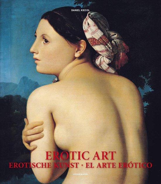 Boek cover Erotic Art van Daniel Kiecol (Hardcover)