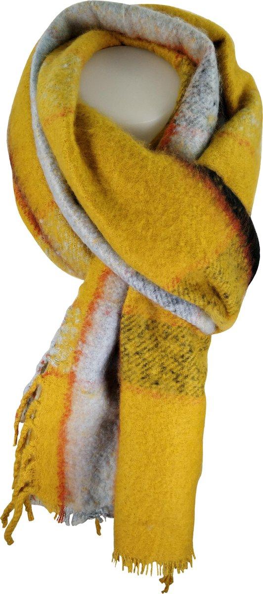 Sjaal Qischa geel
