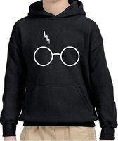 Hoodies sweater   Harry Potter   Bril   maat 164 (14-15 jaar)
