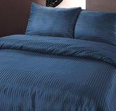 Zensation Dallas - Dekbedovertrekset - Lits-Jumeaux - 240x200/220 + 2 kussenslopen 60x70 - Donker Blauw