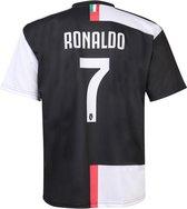 Juventus Voetbalshirt Ronaldo CR7 Thuis 2020-2021 Kids-Senior-140