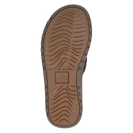 Reef Voyage Lux Heren Slippers - Brown/Brown - Maat 45