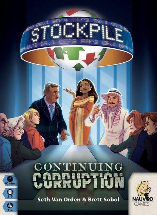 Afbeelding van het spel Stockpile Continuing Corruption + Kickstarter Promo