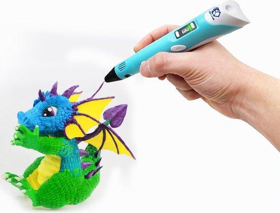 Goede bol.com | 3D Teken Pen Speelgoed Starterset Blauw – Tekenen en HB-91