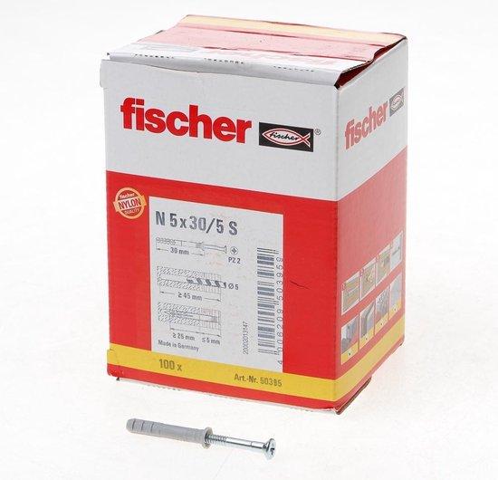 nagelplug N5x30 fischer (100st.)