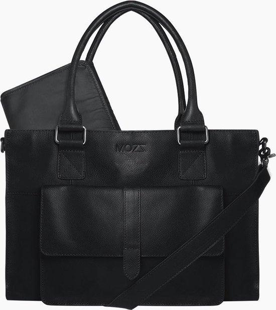 Product: MOZZ Luiertas Pretty Pocket - Zwart, van het merk Mozz Bags