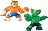 Goo Jit Zu superhelden duo set - Tygor versus Viper