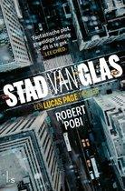 Boek cover Stad van glas van Robert Pobi (Paperback)