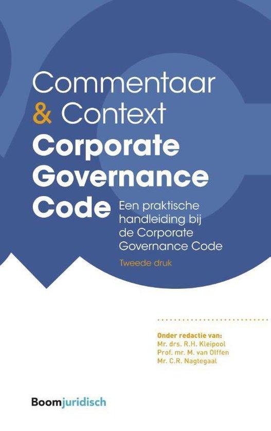 Commentaar & Context  -   Corporate Governance Code
