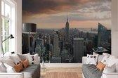 Fotobehang New York Skyline - 254x368 cm (bxh) - 4 rollen behang