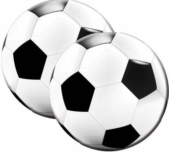 Voetbal servetten, 20 stuks.