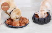 Snuffelmat - Snuffelkom - Anti schrok - Speelmat - Antischrokmat - Trainingsmat - Hondenvoerbak - Denkspel hond