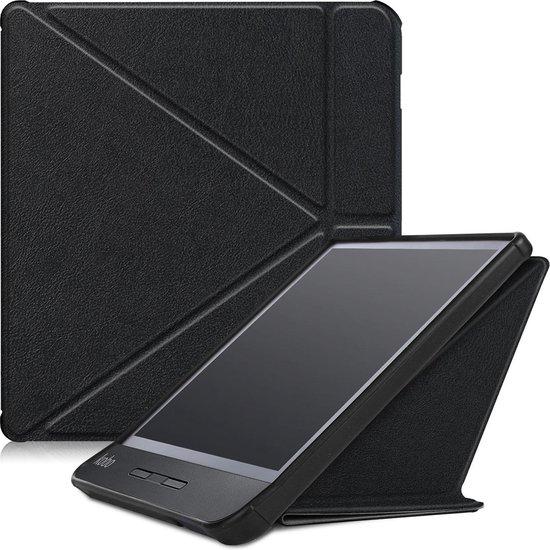 Kobo Libra H2O hoesje - Tri-Fold Book Case - Zwart