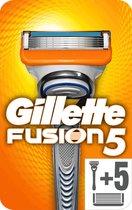 Gillette Fusion5 Scheersysteem + 5 Scheermesjes - Brievenbus verpakking