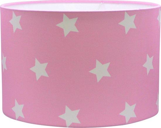 Lamp Babykamer Roze Sterren - Roze Hanglamp - Sterren Lamp - Land of Kids Babylamp