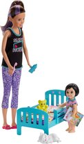 Barbie Skipper Babysitter Bedtijd Speelset - Barbiepop