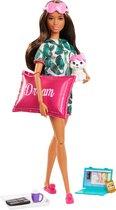 Barbie Ontspannende Pop Wellness Slapen - Barbiepop