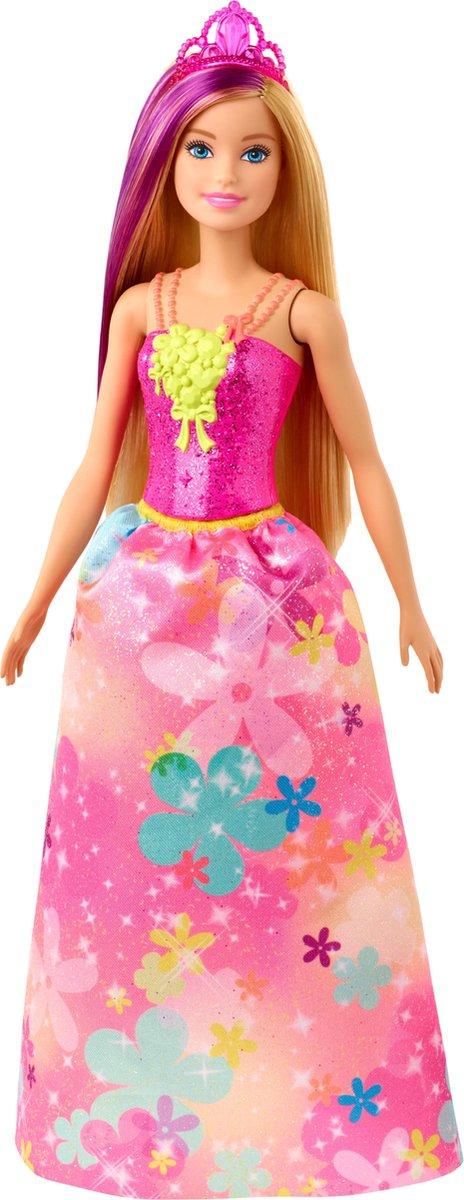 Barbie Dreamtopia Prinses met blond haar - Barbiepop
