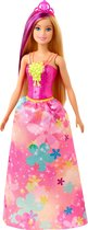 Barbie Dreamtopia Prinses met blond haar - Barbiepop