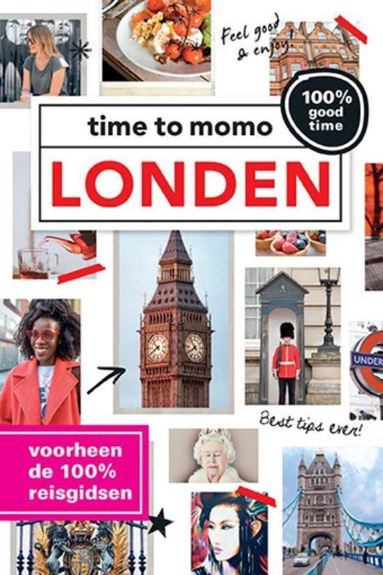 Cover van het boek '100%  / Londen + stadsplattegrond' van M. van Steekelenburg