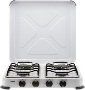 Gimeg Kooktoestel 4-Pits - Wit - Beveiligd