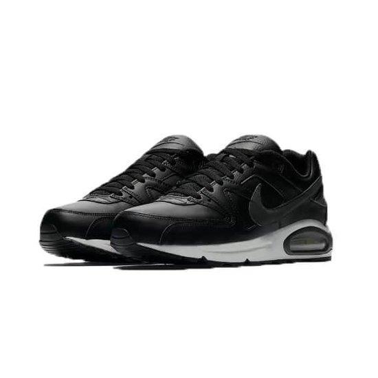 Nike Air Max Command Leather Heren Sneaker  - zwart/antraciet - maat 45,5