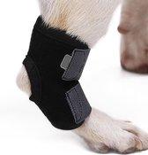 Honden brace voorpoot of achterpoot  - Bescherming - Medium - Zwart