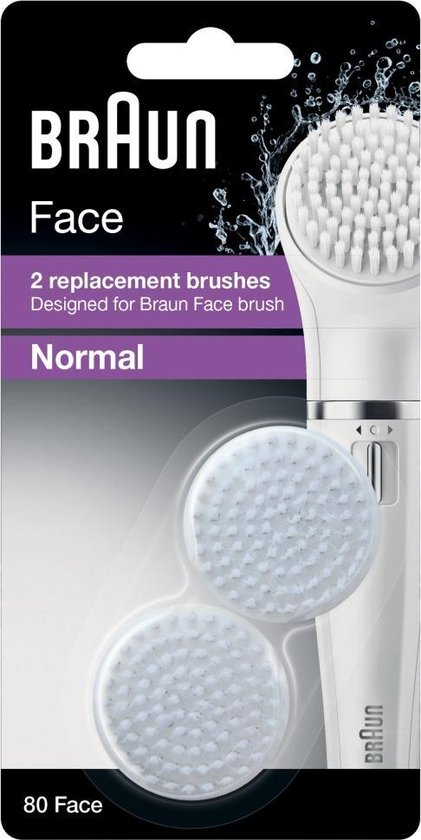 Braun Face 80 Vervangende Epilatorborstels - 2 stuks