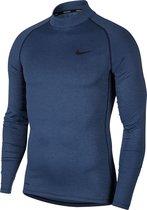 Nike Sportshirt - Maat M  - Mannen - Donker blauw