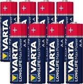 Varta Longlife Max Power AAA Batterijen - 8 stuks