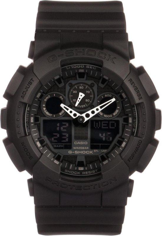 Casio G-Shock Heren Horloge GA-100-1A1ER - 52 mm
