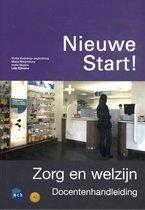 Boek cover Nieuwe Start! Zorg en welzijn van Ncb