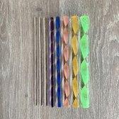 8 Dotting tools voor dot painting | stippennen | stip stokjes | mandala dotting art
