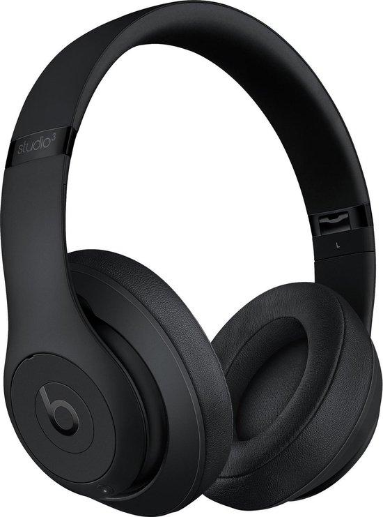 Beats By Dre studio 3 Wireless - Draadloze Koptelefoon met Noice Cancelling - Matzwart