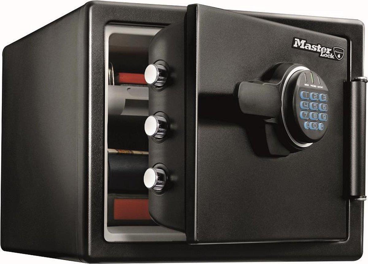 MasterLock Brandwerende kluis LFW082FTC – Waterdicht – Digitaal slot – Verlichte toetsen - UL/ETL-ge