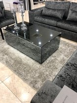 Luxury Living - Mirror Salontafel Antraciet