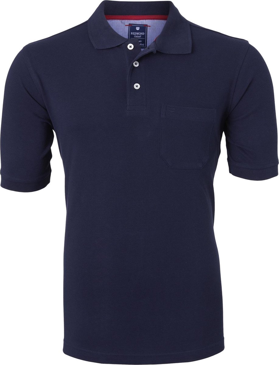 Redmond Regular Fit poloshirt - marine blauw -  Maat: 3XL
