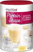 Modifast Protein Shape Milkshake Maaltijdvervanger - Vanille - 540 gr