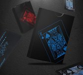 Speelkaarten Waterdicht – Special Edition Pokerkaarten Blauw/Zwart