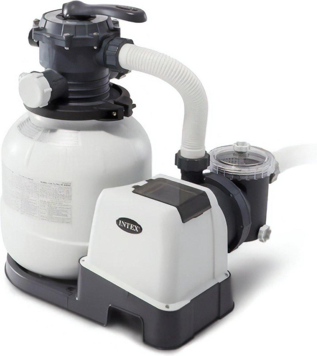 Intex zandfilterpomp 6 m3/uur 26646GS - Zandfilter