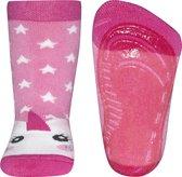 Ewers antislip sokken Unicorn roze