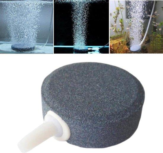 SupplyU Luchtsteen Aquarium - Zuurfstofsteen Aquarium - Aquarium Beluchting - Mineral Steen - Bruissteen - Aquarium filter - Mineral Oxygen Luchtsteen - Geschikt Voor Elk Aquarium - 40mm