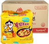 SAMYANG Hot Chicken Ramen Cheese - Instant Noodles Ramen (box 40stuks)