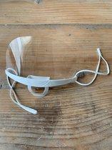 Plastic Mondkapjes 10 Stuks - Doorzichtige mondmaskers