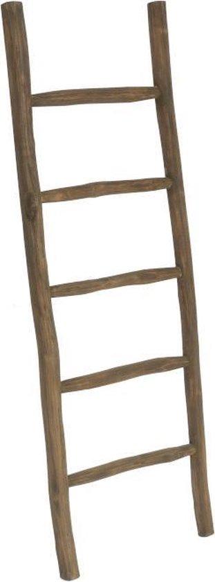 Bol Com Houten Decoratie Ladder Rustiek Bruin 50x5x150